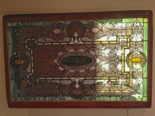 decorative glass windows traditional bathroom.htm which orientation should this stain glass window be hung   stain glass window be hung