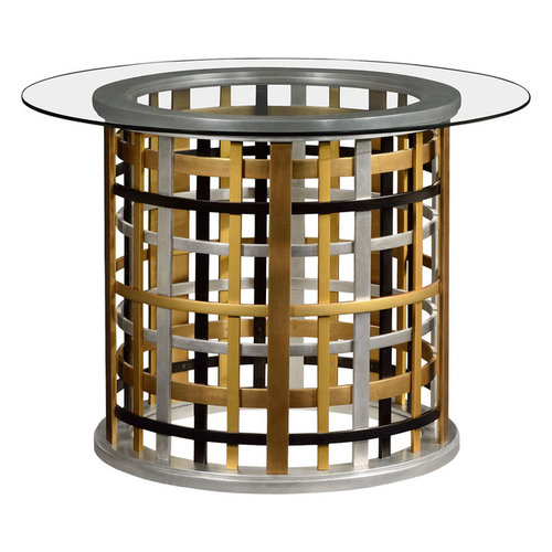 Jonathan Charles Around Plaid Table By Jonathan Charles Fine Furniture