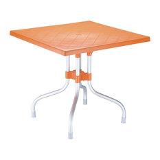 Compamia Forza Square Folding Table, Orange
