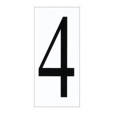 Sea Gull Address Light Address Number Tile, White Plastic