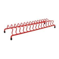 Delfinware Wireware Popular Plate Rack, Red