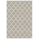 Koeckritz Rugs - Couristan Cape May Area Rug Indoor/Outdoor Carpet, Driftwood, 8'x10' - Cape May Collection Indoor/Outdoor Area Rugs in Custom Sizes and Shapes.