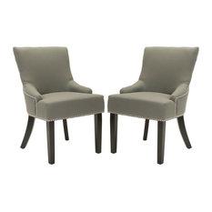 Safavieh Lotus Side Chairs, Set of 2, Sea Mist