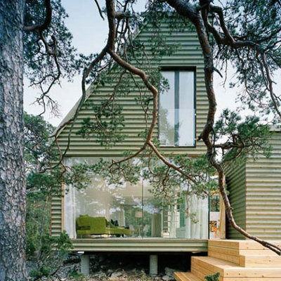 Scandinavian Exterior by Mia Karlsson Interior Design
