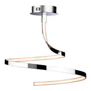 Wave LED Semi-Flush Ceiling Light