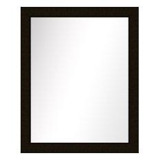 PTM IMAGES   Over The Sink Vanity Mirror, Dark Bronze, 25.5x31.5