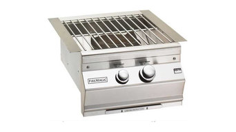 Fire Magic Propane Gas Built-In Power Burner With Stainless Steel Grid