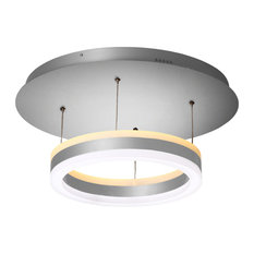 "Europa 11"" WiFi-Enabled Tunable White Color-Changing LED Pendant Ceiling Fixture"
