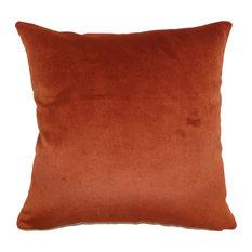 Juno Solid Floor Pillow Rust