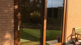serramenti legno con rivestimento esterno in  alluminio