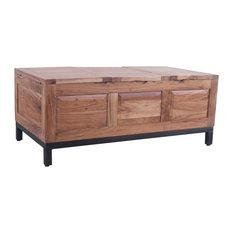 oak idea - Chest Trunk Coffee Table - Coffee Tables