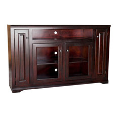 """Eagle Furniture - Eagle Furniture Tall Savannah 66"""" Wide TV Console, White - Entertainment Centers and Tv Stands"""
