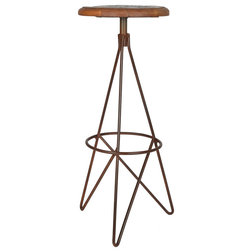 Industrial Bar Stools And Counter Stools by Designe Gallerie