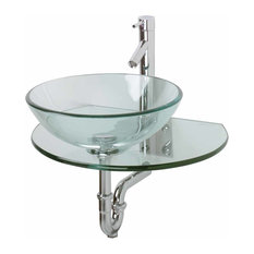 Top Mount Bathroom Sinks Above Counter Anzzi Black Desert Crown Modern Tempered Deco Glass Vessel Bowl Sink In Speckled Stone Ls Az182 Round Vanity Countertop Sink Bowl With Pop Up Drain Vessel Sinks