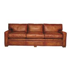 Armada 4-Seater Sofa, Genuine Fur Filling
