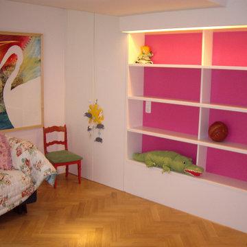 Umbau zu einem Kinderzimmer