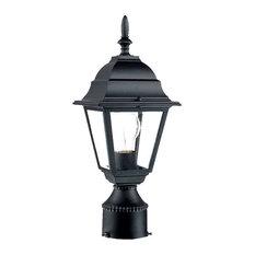 "Acclaim Lighting 4007 Builder's Choice 1 Light 14""H Post Light - Matte Black"