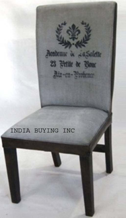 Industrial leather and canvas furniture from India buying inc
