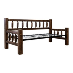 Homestead Collection Day Bed, Stain and Clear Lacquer Finish