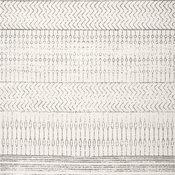 nuLOOM Nova Stripes Contemporary Area Rug, Gray, 12'x15'
