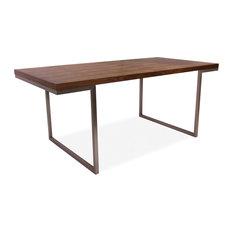 Shop Chrome Dining Table On Houzz