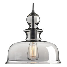Progress Lighting P5332-09 Staunton 1-Light Pendant, Graphite