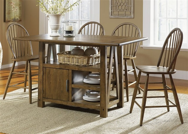 Farmhouse Dining Sets By HomeCinemaCenter.com