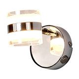 Levent wall spotlight with LED and switch