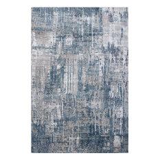 "Dynamic Rugs Onyx 6878 Organic/Abstract Rug, Blue/Gray, 9'2""x12'10"""