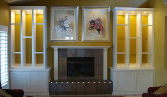 Living Rooms: Home Media Cabinetry Work