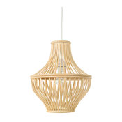 Bellona Bamboo Jar Pendant Lamp, Natural