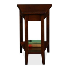 Leick Home   Solid Wood Recliner Wedge Table   Side Tables And End Tables