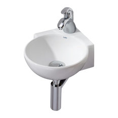 Cheviot Products   Corner Wall Mount/Vessel Sink   Bathroom Sinks