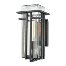 Elk Lighting 45186/1 Croftwell - One Light Outdoor Wall Lantern