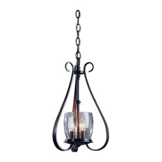Hubbardton Forge (101474) 3 Light Sweeping Taper Chandelier