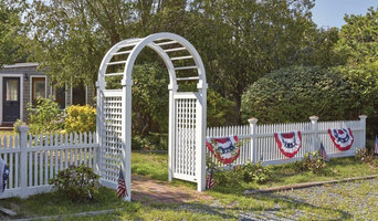 Spindle Top Arbor and Nantucket Fences Harwich, MA