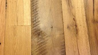Antique Oak with Original Surface Boards