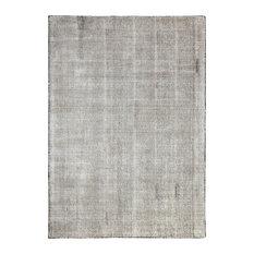 Nathan Distressed Flatweave Area Rug, Gray, 5'x8'
