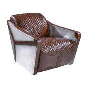 Alton Sheath Club Chair, Brown