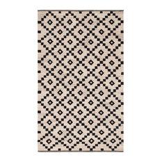 Jaipur Living Croix Handmade Geometric Black/White Area Rug, 5'x8'