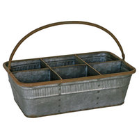 Great Finds Metal Tote, 6 Pack