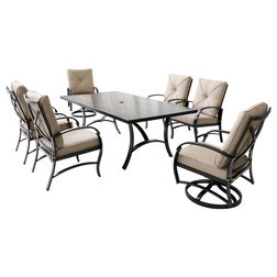 Transitional Outdoor Dining Sets by iPatio