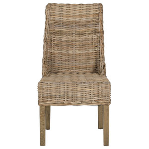 Safavieh Tristan Arm Chairs, Natural, Set of 2