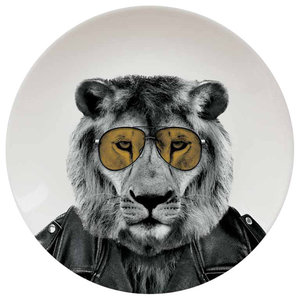 Wild Dining Plate, Lion