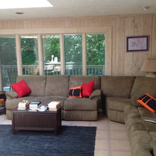 Family room before plus inspiration photo