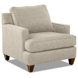 Transitional Armchairs And Accent Chairs by Klaussner Furniture