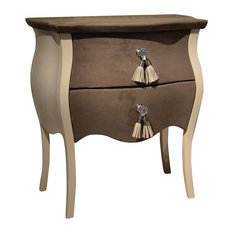 Tecninova - Tecni Nova Upholstered Bedside Table - Nightstands And Bedside Tables