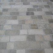 Limestone Tumbled Cobblestone Pavers