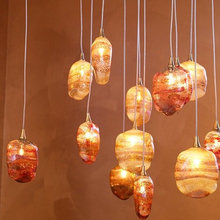 Breath Collection - Blown Glass Chandeliers and Pendant Lights