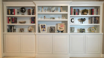 Living Room Bookcase Cabinets